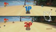 Shark Beach 200cc Multiplayer