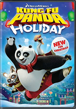 Kung Fu Panda Holiday 2012 DVD