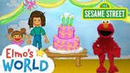 Sesame Street Birthdays Elmo's World-0