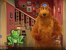 Frog Croaking on Bear in the Big Blue House