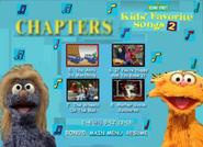 Kids Favorite Songs 2 DVD 2001 Menu Rare Go to Your Favorite Part2