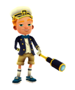 Philip Captain Outfit