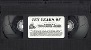 TenYearsofThomastheTankEngineandFriends1999BlackVHStape