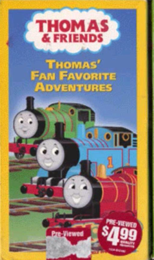 Thomas' Fan Favorite Adventures