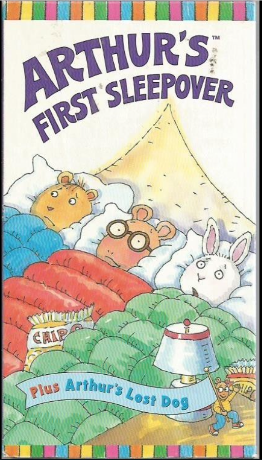 Arthur: Arthur's First Sleepover (1998) (Videos)
