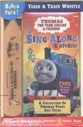 Sing-AlongandStoriesVHSwithwoodenwhistle