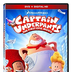 Captain Underpants The First Epic Movie 2017 Dvd Gallery My Scratchpad Wiki Fandom