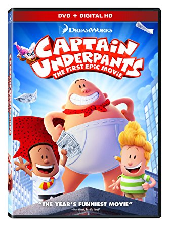 Captain Underpants The First Epic Movie 2017 DVD/Gallery