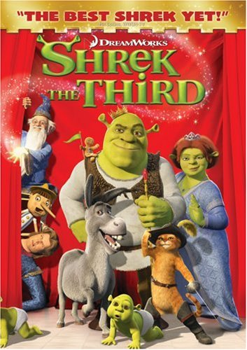 Shrek the Third 2007 DVD