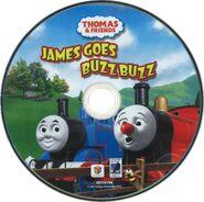 JamesGoesBuzzBuzzandOtherThomasStoriesDVDdisc