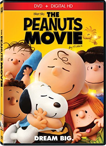 The Peanuts Movie 2016 DVD