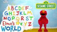 Sesame Street Alphabet Elmo's World
