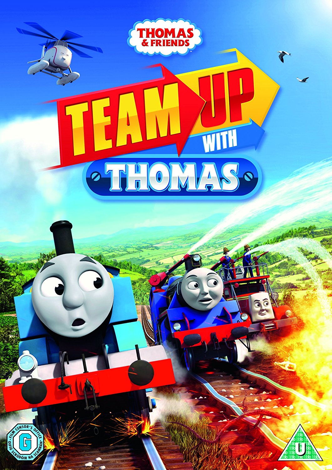 Team Up With Thomas (UK DVD)