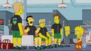 The Simpsons Wilhelm Scream in Singin' In the Lane