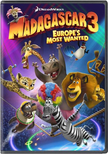 Madagascar 3 Europe's Most Wanted 2012 DVD