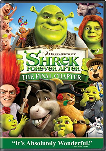 Shrek Forever After 2010 DVD