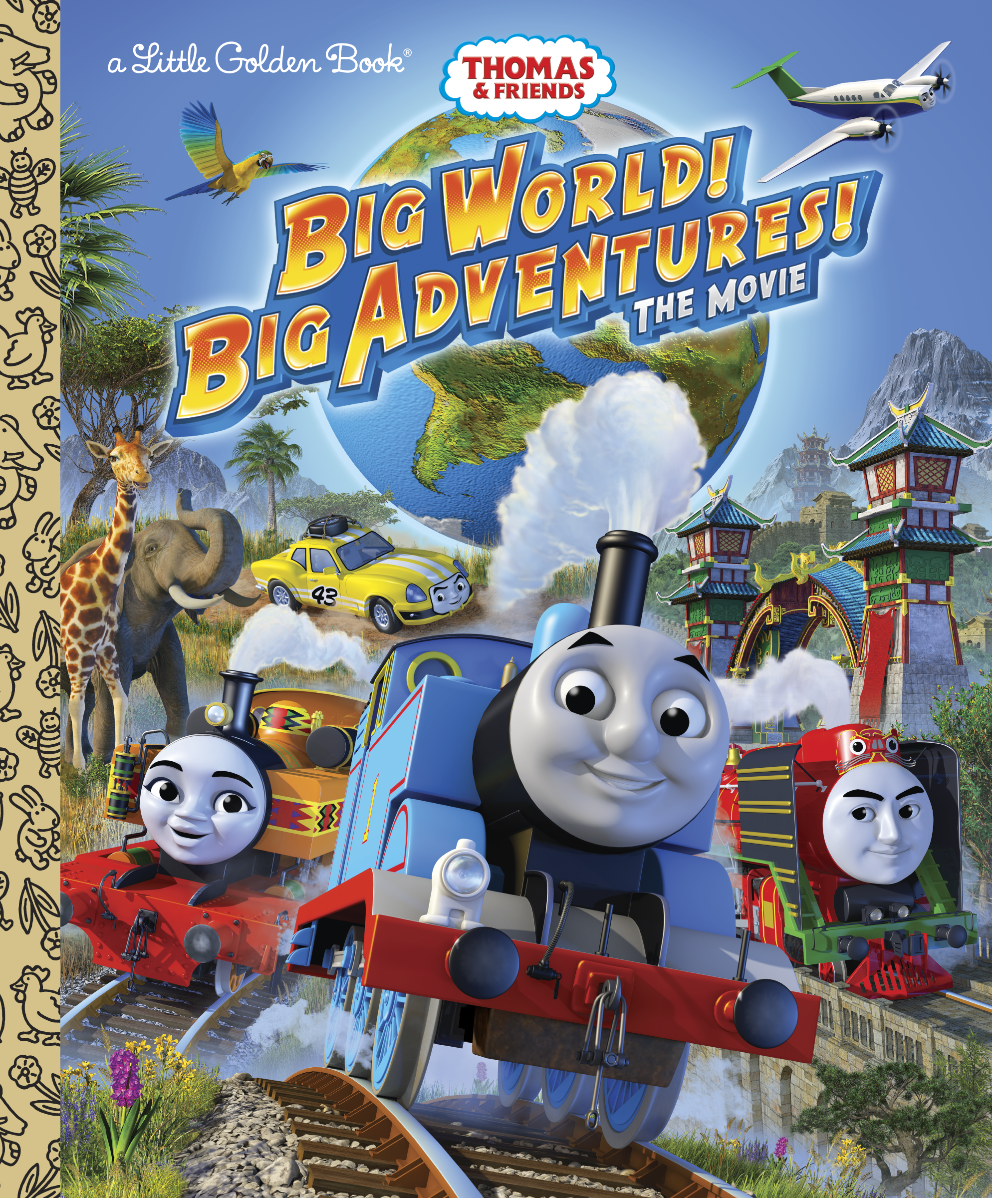 Big World! Big Adventures! (Golden Book)/Gallery