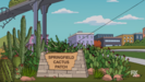 The Simpsons - Springfield Cactus Patch Scene That used the Wilhelm Scream