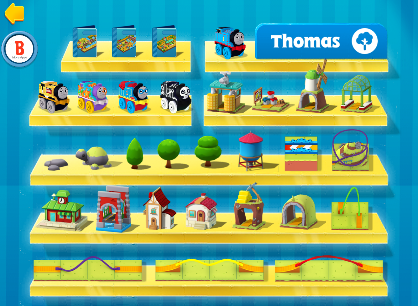Thomas and Friends MINIS (app)/Thomas' Countryside