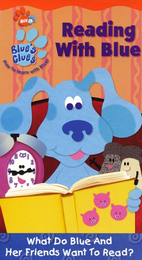 Blue's Clues: Reading with Blue (2002) (Videos)