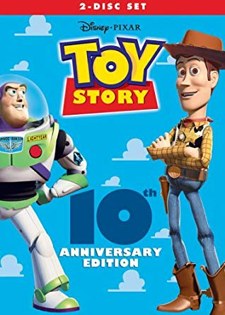 Toy Story 10th Anniversary 2005 DVD