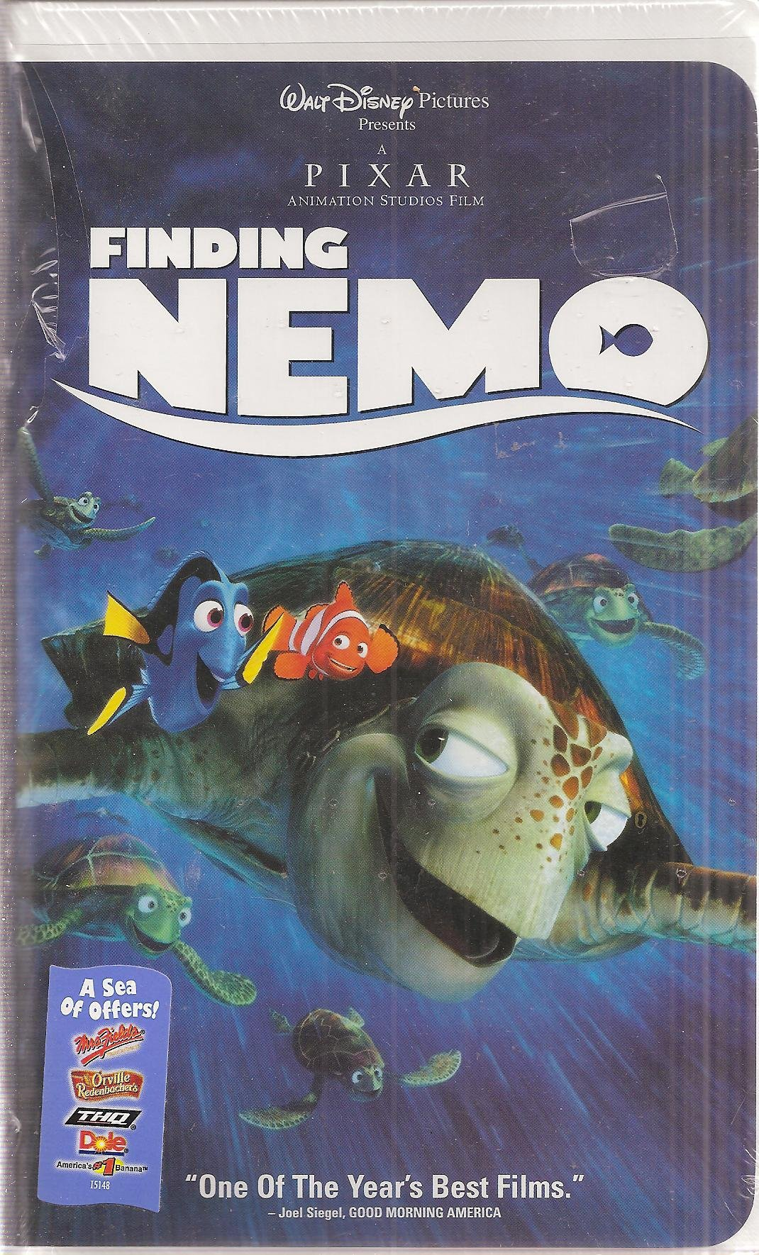 Finding Nemo 2003 DVD