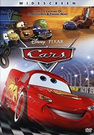 Cars 2006 DVD