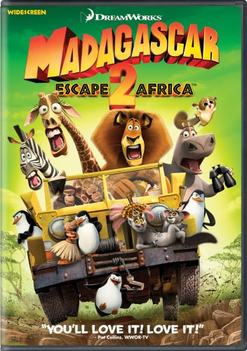 Madagascar Escape 2 Africa 2009 DVD