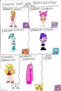 Team Girl Power Mane Six and Spike Meme