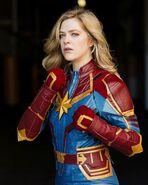 Kelsey Impicciche Captain Marvel San Diego Comic-Con 2019