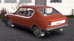 Pohjanmaa Satsuma replica rear view