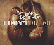 I Don't Love You promo cover