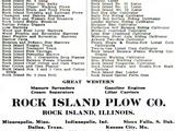 Rock Island Plow Company