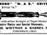 Whitman & Barnes Manufacturing Company