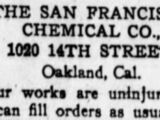 San Francisco Chemical Company