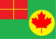 Flag of Howlish Quebec Dock Territory