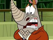 Mr. Hornbill is a Coarse Brute