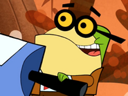 Principal Pixiefrog Stands Up For His Principles