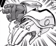 Izuku's new support device