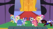 Ponies at the gala S01E26