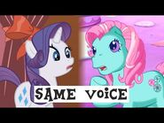 My Little Pony Voice Actresses over the Generations