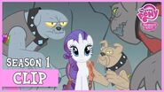 Rarity Dealing with the Diamond Dogs (A Dog and Pony Show) MLP FiM HD