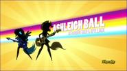 Et toi joue de la guitare , Ashleigh Ball dans le rôle d'Applejack et Rainbow Dash