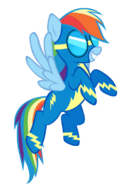 Rainbow dash the wonderbolts by keeveew-d54zsh1