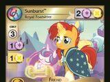 Sunburst, Royal Foalsitter