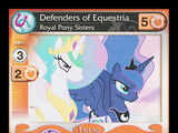 Defenders of Equestria, Royal Pony Sisters