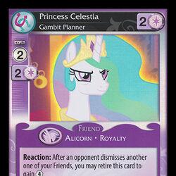 Princess Celestia, Gambit Planner