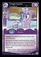 Twilight Sparkle, Crystallized