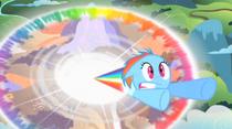 RainbowDashFistRainboom