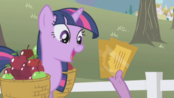 Twilight Sparkle overjoyed about tickets S1E03.png